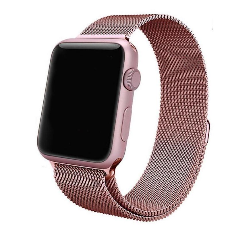 a48e51a3076 Apple Watch 38mm Rose Gold Milanese Loop Band Strap - King Mac