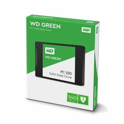 """WD Green 240GB 2.5"""" SATA SSD"""